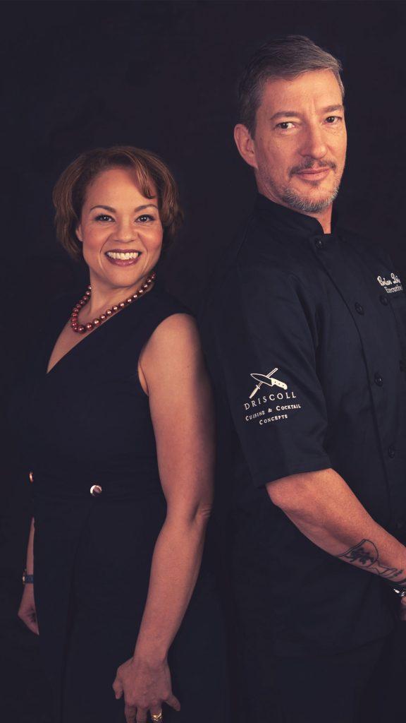 Monique Hayward and Brian Driscoll