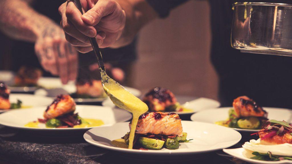 Photo of food being prepared