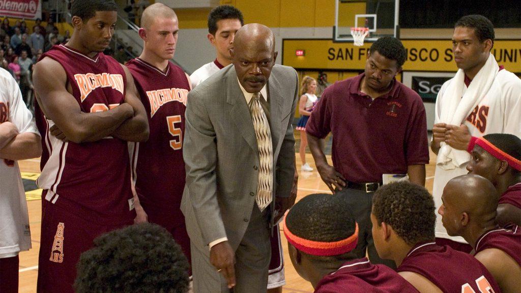 """Samuel L. Jackson stars as a controversial high school basketball coach in """"Coach Carter"""""""