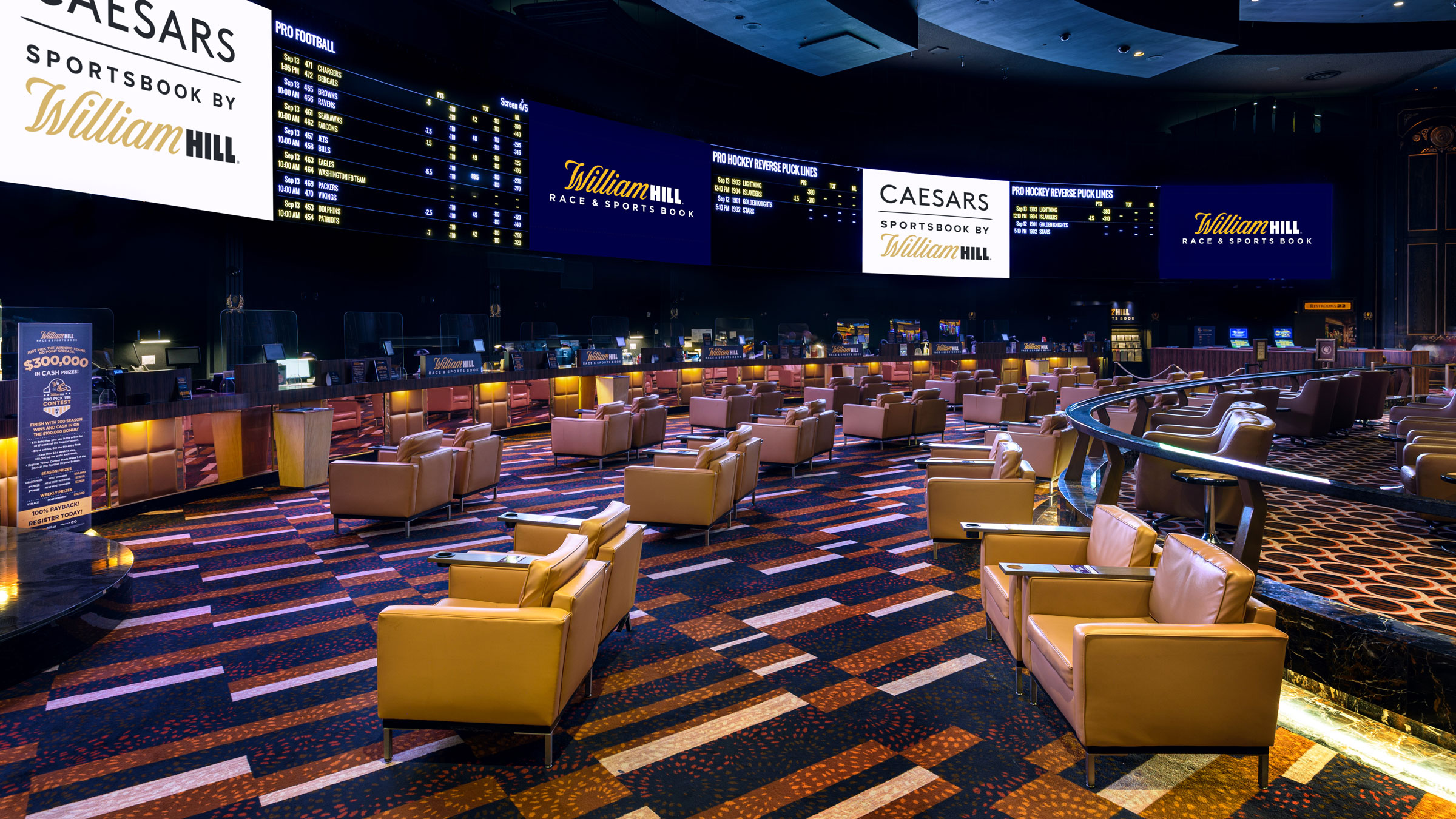 New Caesars Sportsbook Openings and App Launch Announced
