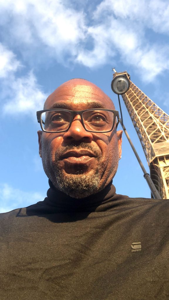 Kevin Young in Paris